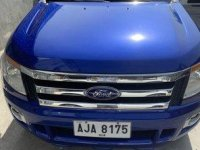 Selling Blue Ford Ranger 2015 in Manila