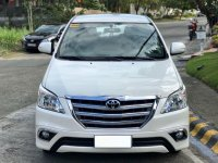 Pearl White Toyota Innova 2016 for sale in Muntinlupa