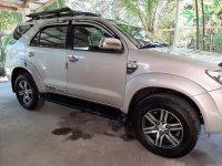 Sell Silver 2011 Toyota Fortuner in Binalonan