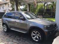 Grey Bmw X5 2007 for sale in Quezon City
