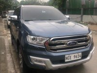 Blue Ford Everest 2016 for sale in Automatic