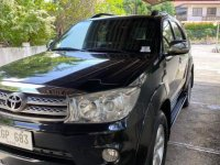 Purple Toyota Fortuner 2010 for sale in Davao City
