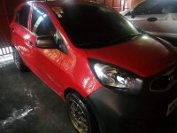 Red Kia Picanto 2010 for sale in Manual