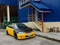 Selling Yellow Honda Civic 1998 in Batangas