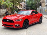 Selling Red Ford Mustang 2016 Coupe / Roadster in Mandaluyong