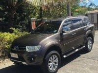 Brown Mitsubishi Montero Sport 2014 Automatic for sale