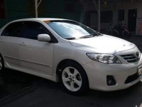 Pearl White Toyota Corolla altis 2013 for sale in General Emilio Aguinaldo
