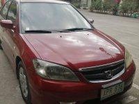 Red Honda Civic 2005 for sale in Calamba