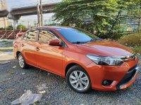 Orange Toyota Vios 2016 for sale in Quezon City