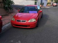 Red Honda Civic 1998 for sale in Manila