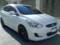 White Hyundai Accent 2016 for sale in Legaspi Park