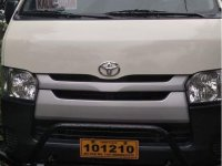 White Toyota Hiace 2016 for sale in Davao