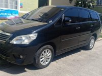 Black Toyota Innova 2014 for sale in Automatic