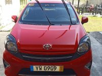 Selling Red Toyota Wigo 2015 in Manila