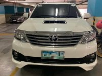 Selling White Toyota Fortuner 2016 in Manila