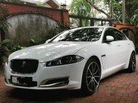 White Jaguar Xf 2015 for sale in Manila