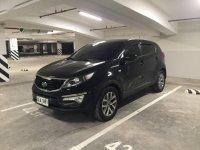 Selling Black Kia Sportage 2015 in Bonifacio