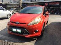 Orange Ford Fiesta 2013 for sale in Manila