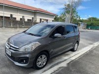 Grey Suzuki Ertiga 2018 at 21000 km for sale