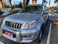 Silver Toyota Land cruiser prado 2004 for sale in Automatic