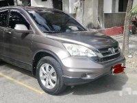 Grey Honda Cr-V 2010 for sale in Manila