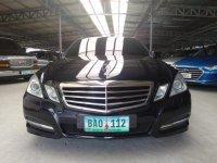 Selling Black Mercedes-Benz E-Class 2012 in Makati