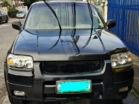 Sell Black 2006 Ford Escape in Manila