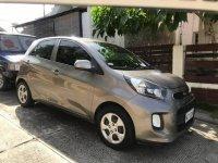 Selling Grey Kia Picanto 2016 in Davao City