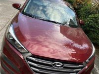 Red Hyundai Tucson 2017 for sale in Manual