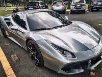 Silver Ferrari 488 2018 for sale in Automatic