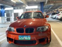 Orange Bmw 1-Series 2013 for sale in Manila