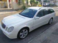 White Mercedes-Benz E-Class 2004 for sale in Automatic