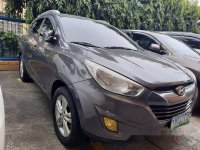 Grey Hyundai Tucson 2011 for sale in Automatic