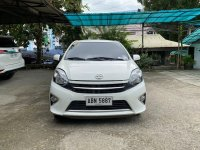 White Toyota Wigo 2015 for sale in Manila