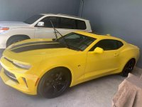 Yellow Chevrolet Camaro 2018 for sale in Muntinlupa