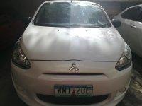 Sell Pearl White 2013 Mitsubishi Mirage in Mandaluyong