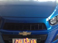 Selling Blue Chevrolet Sonic 2015 in Rizal