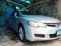 Silver Honda Civic 2012 for sale in Morong