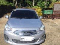 Selling Grey Mitsubishi Mirage 2016 in Manila