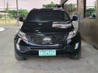 Black Kia Sportage 2011 for sale in Automatic