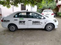 White Toyota Vios 2011 for sale in Manual