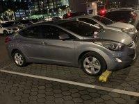 Silver Hyundai Elantra 2013 for sale in Automatic