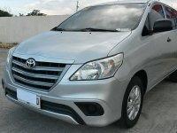 Selling Silver Toyota Innova 2015 in Manila