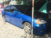 Blue Honda Civic 2002 for sale in Automatic