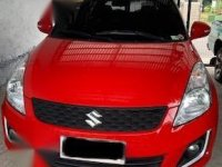 Red Suzuki Swift 2011 for sale in Rizal