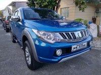 Selling Blue Mitsubishi Strada 2015 in Antipolo
