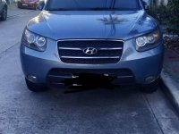 Grey Hyundai Santa Fe 2008 for sale in Automatic