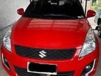 Red Suzuki Swift 2018 Automatic for sale