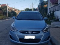 Selling Blue Hyundai Accent 2014 in Taytay