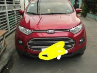 Red Ford Ecosport 2015 for sale in Imus